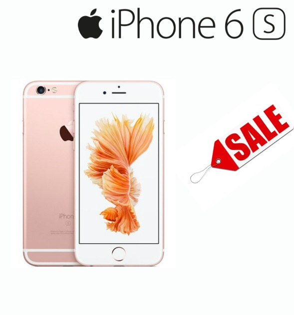 Iphone 6s 64gb Sim Free Unlocked Open Line Color Rose Gold